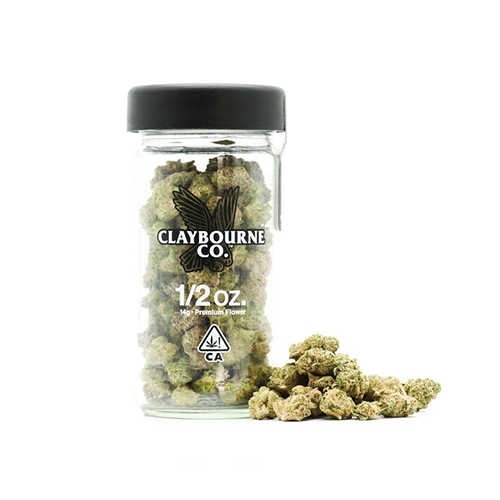 Pre Packaged Flower Half Ounce - Claybourne