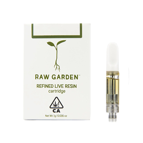 Raw Garden | Refined Live Resin Cartridge