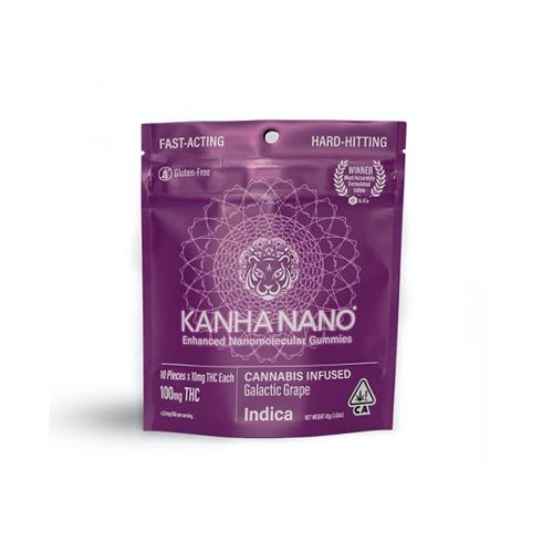 Kanha | NANO: Galactic Grape Gummies - 100mg