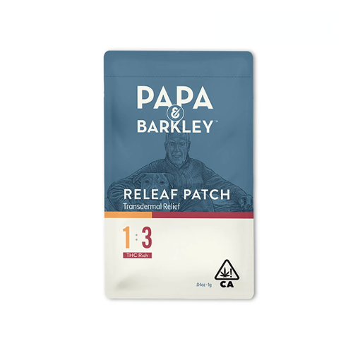 Papa & Barkley | Releaf Patch (1CBD:3THC)