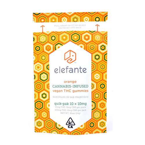 Elefante | Orange Gummies